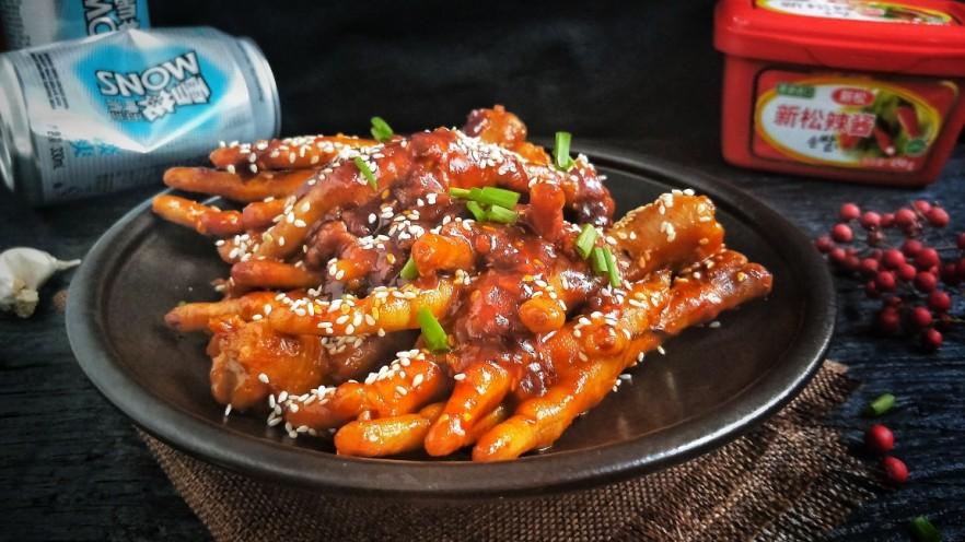 入口即化的韩式辣鸡爪