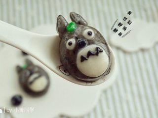 萌萌哒龙猫汤圆,开始吃吧~