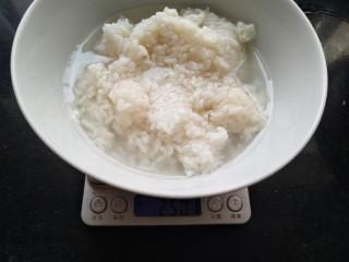 酒酿发酵馒头,豆沙包,酒酿称重。