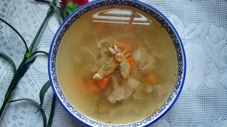 滋阴养颜的瘦肉蛏干汤