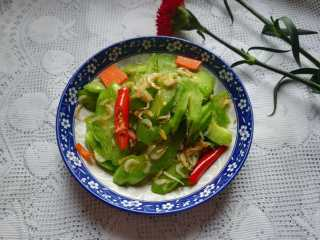 #春天的颜色#最补钙的食物,虾米炒芥菜,成品图。