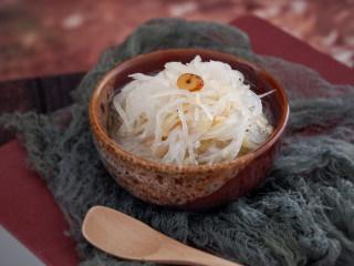 黄芪虾皮萝卜汤,成品图~