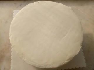 淡奶油奶油霜裱花,抹好面