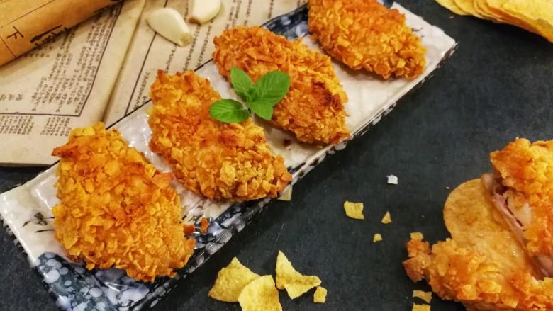 薯片鸡翅~把孩子爱吃的放在一起
