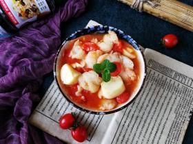番茄豆腐巴沙鱼~让孩子爱上吃饭