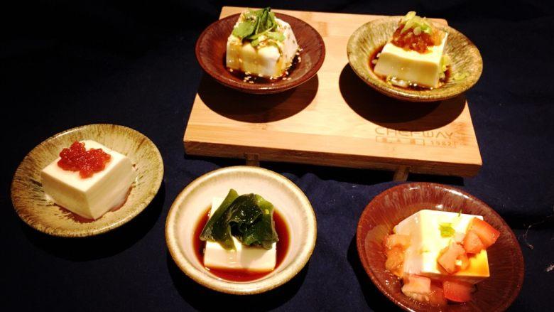 五福临门-吃豆腐