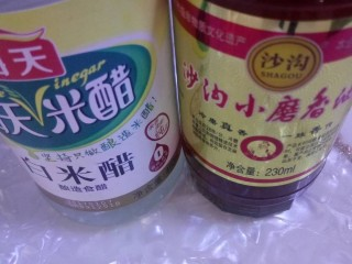 韭菜拌粉丝,用上米醋和香油