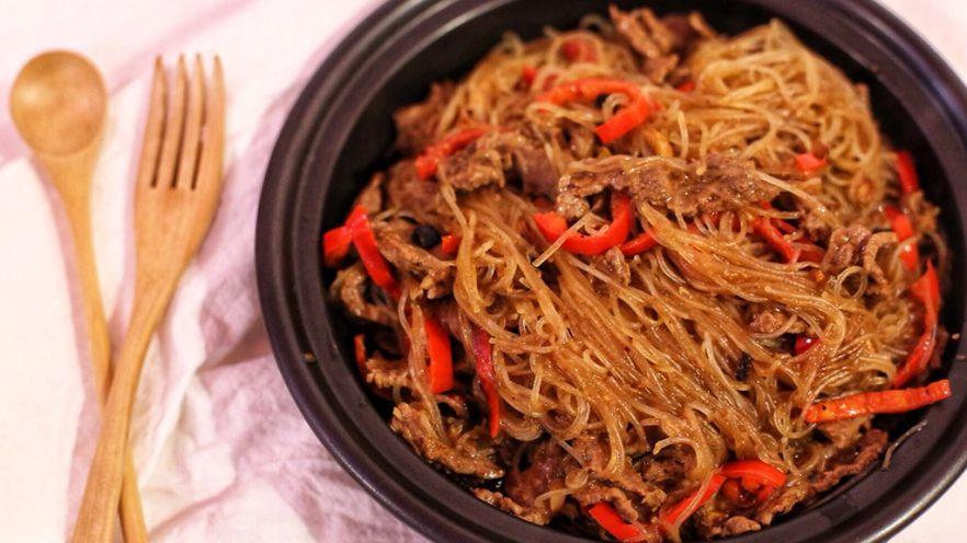 沙茶牛肉粉丝煲