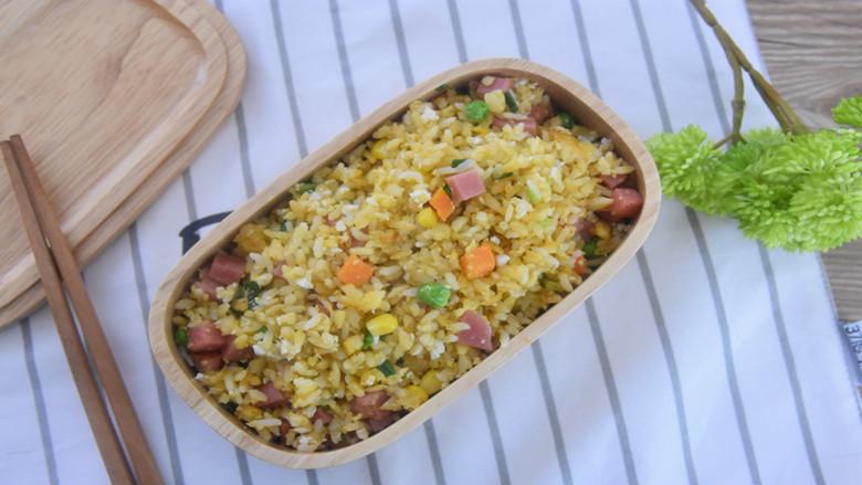 吃货们的福音—黄金什锦蛋炒饭,原来好吃的炒饭是这么做出来的
