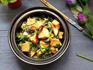 砂锅豆腐青菜