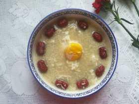 最滋阴补血的早餐,酒酿桂圆鸡蛋