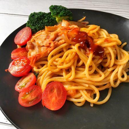 宝宝辅食18M➕:番茄培根芝士意面