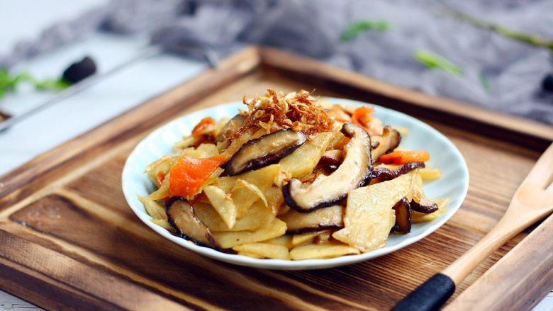 开胃健脾 冬笋炒香菇
