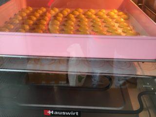 蛋黄小饼干,烤箱提前预热,160度烤15-20分,请根据自家烤箱脾气