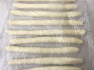 奶香老式面包,再次轮换着搓长