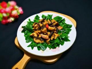 欣欣向荣香菇菜心,看到好想吃!