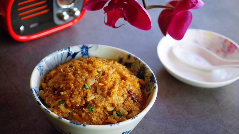 南瓜藜麦饭