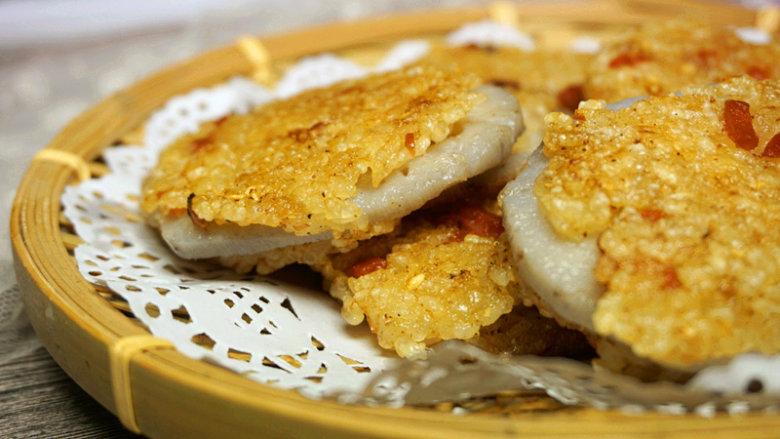 熏肉糯米夹饼