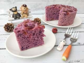 美味健康紫薯发糕