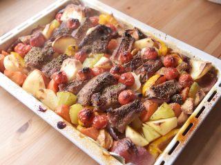 烤箱菜 | 时蔬烤肋排