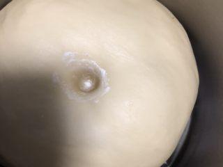 奶酪系列之:奶油奶酪吐司,手指沾面粉戳洞,不回缩不塌陷即可