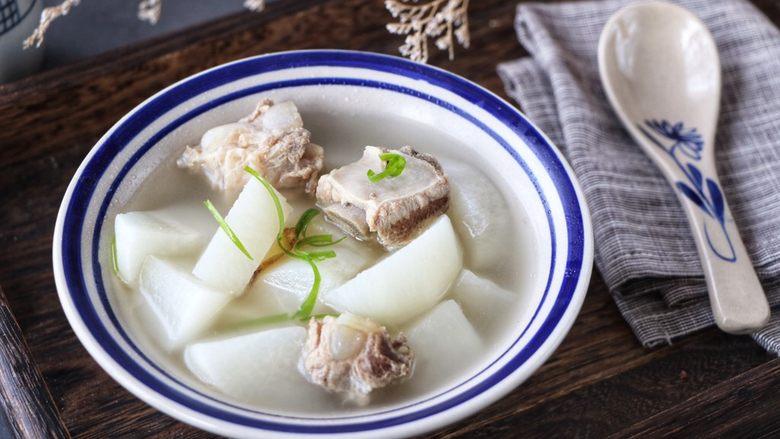 排骨炖白萝卜,超级美味!