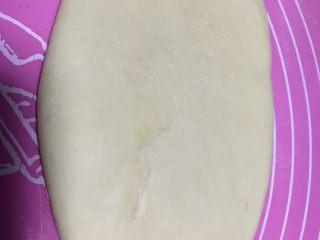 奶酪系列之:奶油奶酪吐司,翻面底部向上