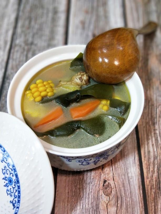 养生玉米海带浓汤