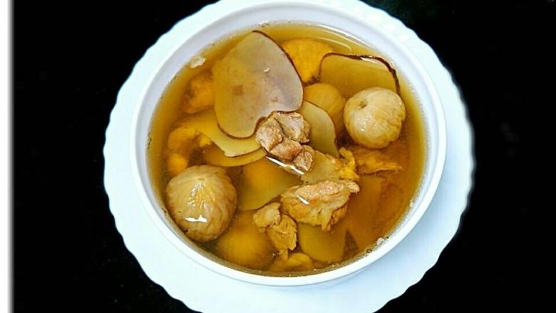 海底椰无花果瘦肉汤