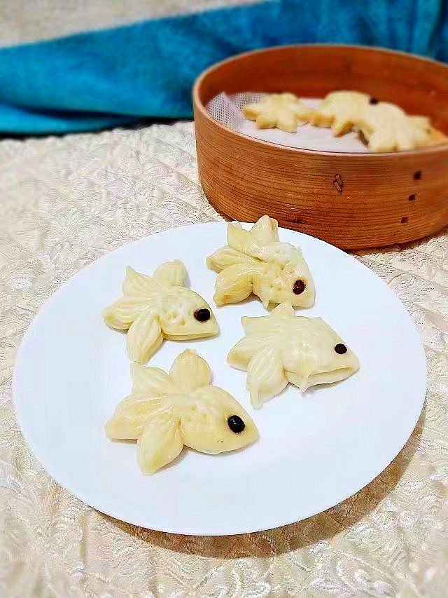 小金鱼馒头