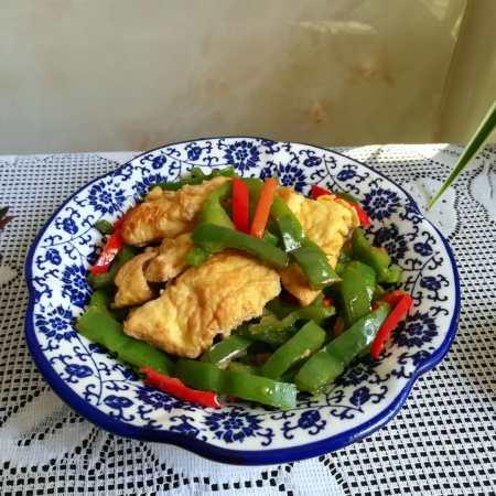 #春天最长个的菜#青椒炒蛋
