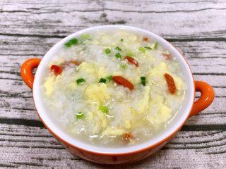 养胃系列~蛋花粥,美味的蛋花粥出锅了