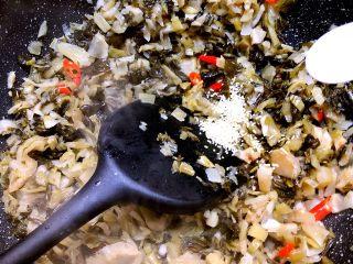 自制腌菜,加入5g鸡精