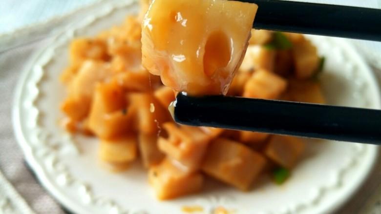 家宴必备――零失败简单快手糖醋藕丁