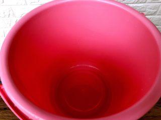 自制腌菜,食品级塑料桶一个
