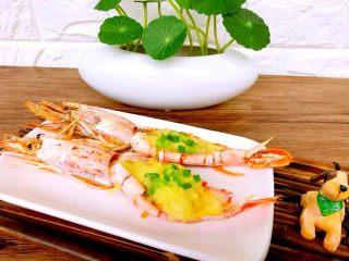 蒜蓉芝士焗阿根廷红虾