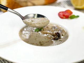 超低脂蘑菇浓汤