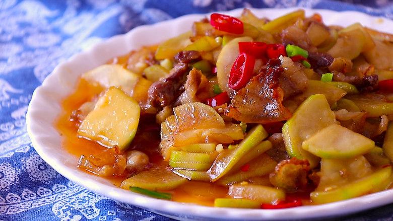 葫芦瓜炒肉