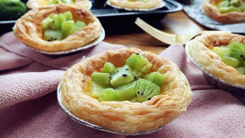 奇异果黄油蛋挞
