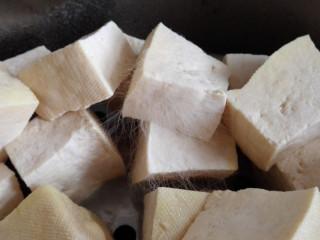 红油腐乳,第四天,看看白毛的细节图片