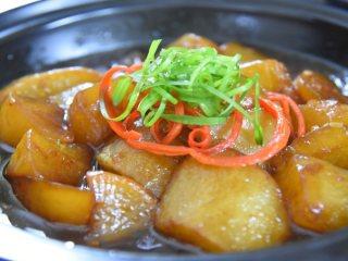鲜美宴客大菜,咸鲜中带着一丝甜味的鲍汁萝卜