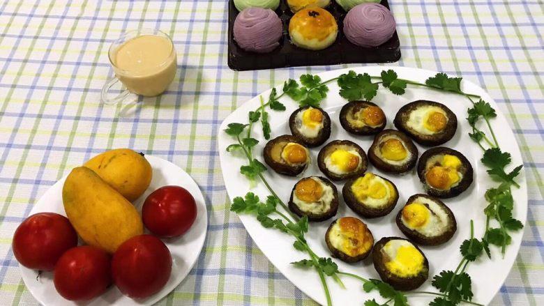 香菇鹌鹑蛋,美好的一天从分手营养的早餐开始