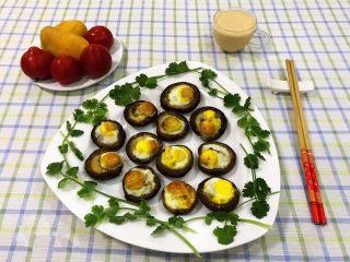 香菇鹌鹑蛋,早餐吃这个既方便又快捷更是营养丰富