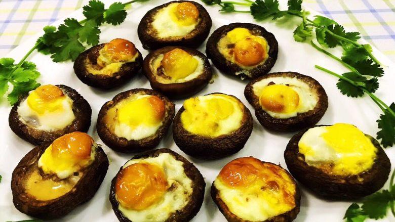 香菇鹌鹑蛋,这道美味也可以作为下午茶和宵夜