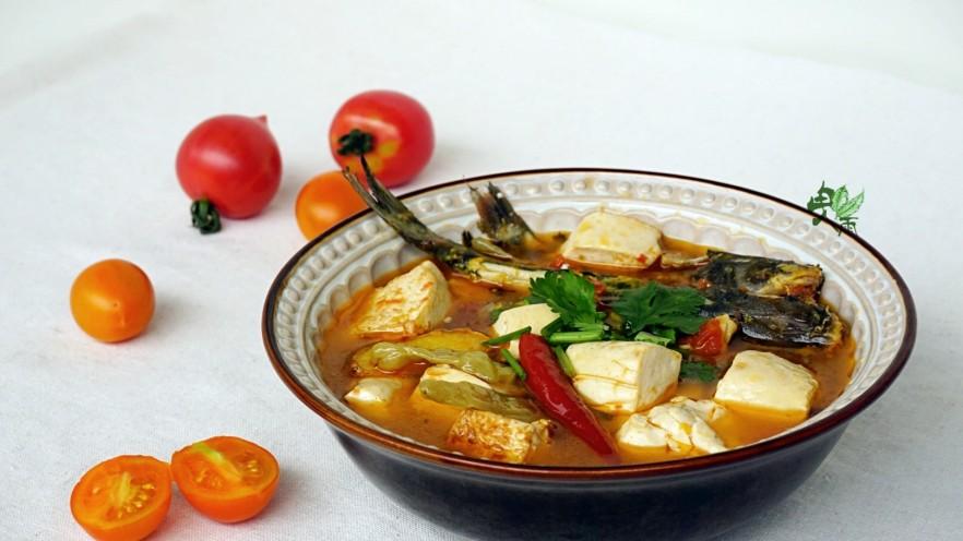 酸辣番茄豆腐鱼