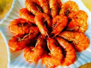家常菜+红烧明虾,摆盘