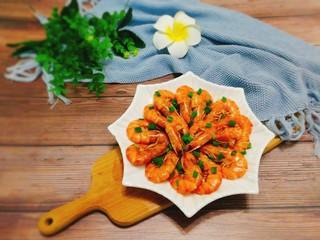 家常菜+红烧明虾,成品图