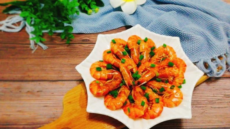家常菜+红烧明虾