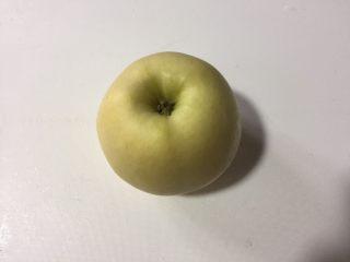 紫薯苹果球&山药🍎球,黄元帅苹果清洗干净,喜欢酸味的可以选择红富士就好