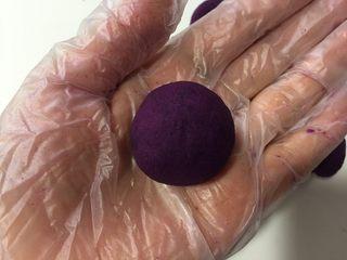 紫薯苹果球&山药🍎球,抱紧搓圆就好
